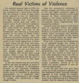 Real Victims of Violence
