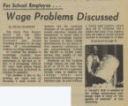 Wage Problems Discussed