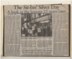 Sit-Ins' Silver Day: A look at the lessons 25 years later