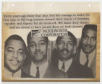 [Woolworth Corporation advertisement commemorating the the Greensboro sit-ins]