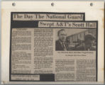 Day the National Guard Swept A&T's Scott Hall