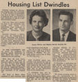 Housing List Dwindles