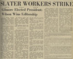 SLATER WORKERS STRIKE