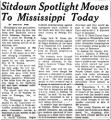 Sitdown Spotlight Moves to Mississippi Today