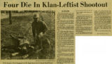 Four Die in Klan-Leftist Shootout