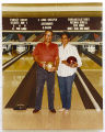 [Fred and Hyla Cundiff bowling]