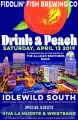 Drink a Peach poster