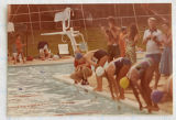 [Swim meet at Green Valley Pool, 1980]
