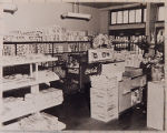 [Gabriel Grocery, Washington Street, interior]
