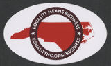 Equality NC sticker