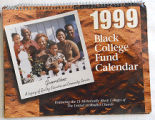 [1999 Black College Fund calendar]