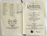 [Program for Greensboro bicentennial]