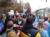 Photograph from Westboro Baptist Church demonstration at UNC Greensboro