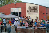 """Barks and Brews"" event at Natty Greenes Beer Bunker"