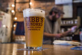 Promotional photograph taken at Gibbs Hundred Brewing Company