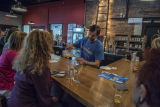 Media tour of Gibbs Hundred Brewing Company