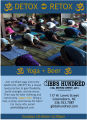 Gibbs Hundred Brewing Company yoga group poster