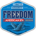 Natty Greene'sFreedom American IPA [label]