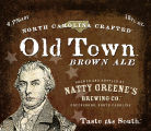 Natty Greene'sOld Town Brown Ale [label]