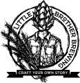 Little Brother Brewing Co.primary logo with seal and tagline