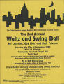 Flier for Waltz and Swing Ball