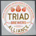 Triad Brewers Alliance promotional sticker