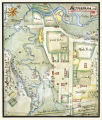 Map of Bethabara by Christian Gottlieb Reuter