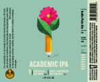 Foothills Brewing Academic India Pale Ale [label]