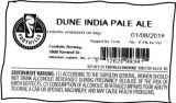 Foothills Brewing Dune India Pale Ale [keg label]