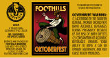 Foothills Brewing Oktoberfest [label]