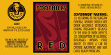 Foothills Brewing Red [label]