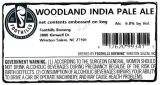 Foothills Brewing Woodland India Pale Ale [keg label]