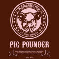 Pig Pounder Brewery Front [quart label]