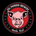 Pig Pounder Brewery Front [coaster]