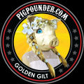 Pig Pounder Brewery Golden Gilt Kolsch [coaster]
