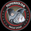 Pig Pounder Brewery Snout Stout [coaster]