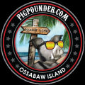 Pig Pounder Brewery Ossabaw Island Pale Ale [coaster]