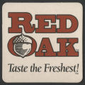 Red Oak Brewery coaster