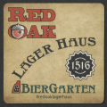 Red Oak Lager Haus and Biergarten coaster