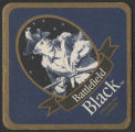 Red Oak Battlefield Black coaster
