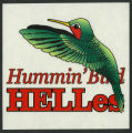 Red Oak Hummin' Bird HELLes sticker