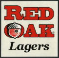 Red Oak Lagers sticker