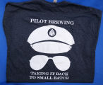 Pilot Brewing Co. dark grey shirt