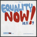 Equality Now flier