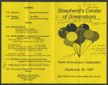 [Shepard's Center of Greensboro tenth anniversary celebration]