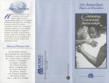 1996 Annual report Hospice at Greensboro