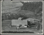 [Aerial photograph of Wesley Long Community Hospital]