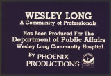 Wesley Long: A community of professionals