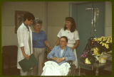[Wesley Long Hospital staff and patient photographs]