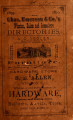 Chas. Emerson & Co.'s Winston, Salem & Greensboro, North Carolina, directory, 1879-'80